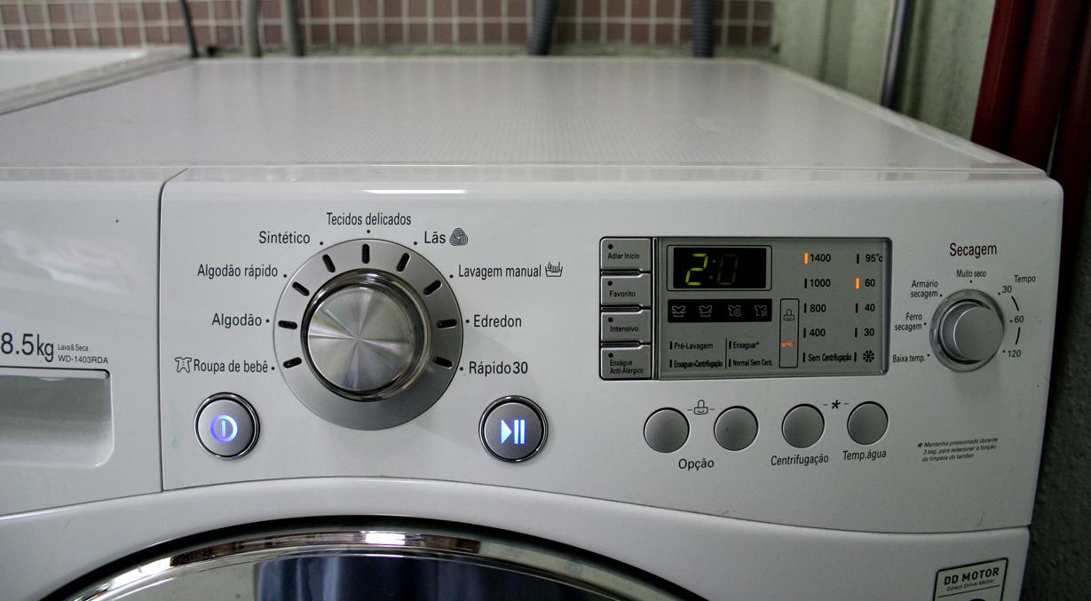 Recomendo lava seca lg for Maquina de segar